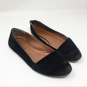 Lucky Brand | Suede Pointed Toe Flats Loafers